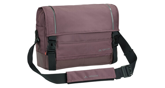 VAUDE Cyclist L Messenger Bag dark plum